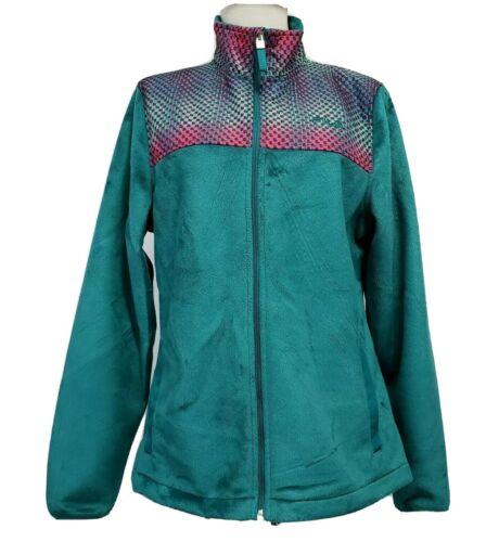 Fila Sport Womens Medium Zip up Fleece Track Jack… - image 1