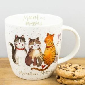 New-Churchill-Alex-Clark-Marvellous-Moggies-Fine-China-Cat-Mug-430ml-Coffee-Cup