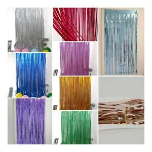 2M-Foil-Fringe-Tinsel-Shimmer-Curtain-Door-Wedding-Birthday-Party-DECORATIONS