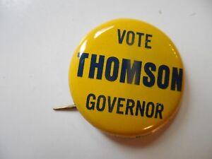 NJ 1970s Senator Pat Dodd Governor Campaign Political Pin Button New NOS