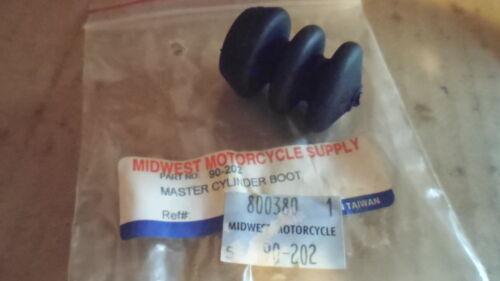 New 70-79 Harley Davidason FL FX Midwest  Rear Master Cylinder Dust Boot 90-202