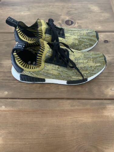 Adidas NMD R1 Yellow Camo - Mens Size 11