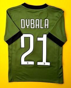 official photos 3fe94 5778e Details about 5+/5 Dybala Juventus kids jersey 2017 2018 third shirt 7-8  years AZ8684 Adidas