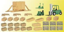 Kibri Bausatz  38628 H0 Deko-Set Transport
