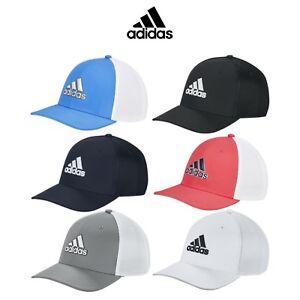 Adidas-2019-Herren-Stretch-Tour-Fitted-Mesh-Baseball-Golf-Cap-Muetze