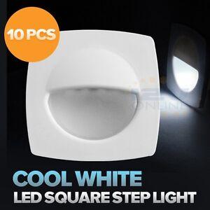 10-12V-Marine-Boat-LED-Courtesy-Lights-RV-Cockpit-Stairway-Lights-Cool-White