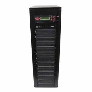 SySTOR 1-11 USB/SD/CF/MS/MMC MultiMedia Backup Copier to CD DVD Duplicator