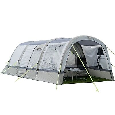 Inflatable Awning Extension to fit OLPRO Cocoon Breeze (Sage Green & Chalk)