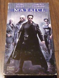 VHS-French-Movie-Canada-Matrice-Keanu-Reaves-Laurence-Fishburne-Matrix
