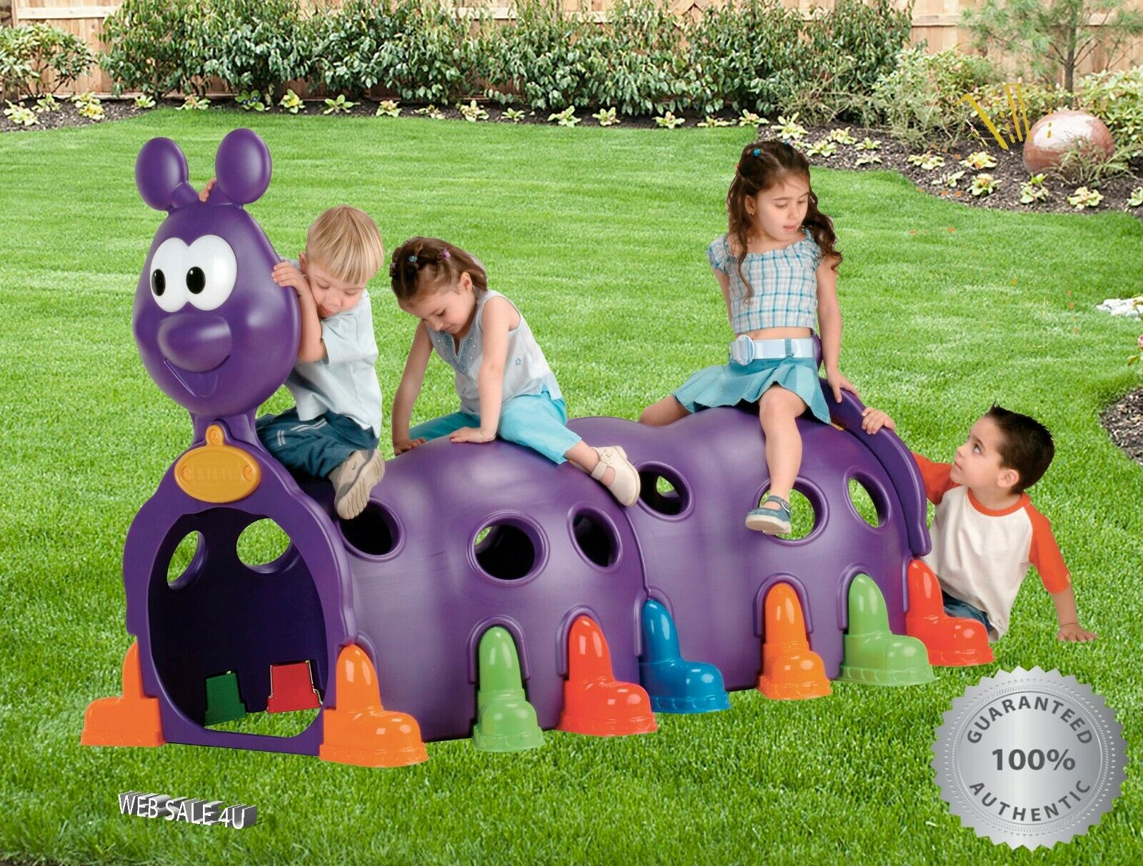 Kids Play Tunnel Outdoor Indoor Large Large Large Caterpillar Huge Centipede Toy Playground 7da5ba