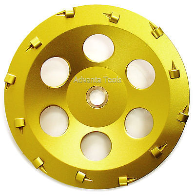 "5"" Quarter Round PCD Grinding Cup Wheel 8 Segments 7//8/""-5//8/"" Arbor"