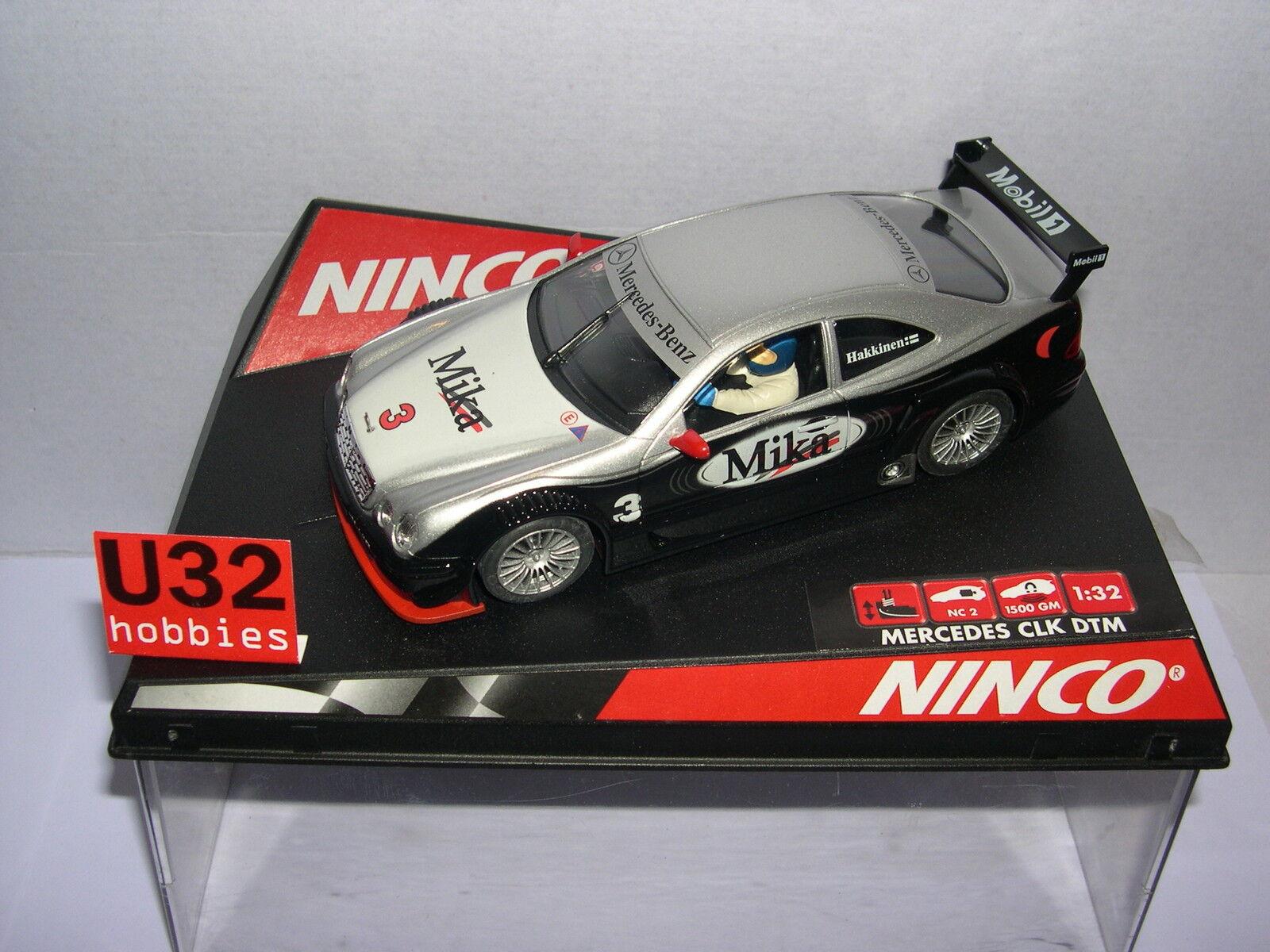 NINCO 50265 SLOT CAR MERCEDES CLK  3 DTM MIKA HÄKKINEN MB