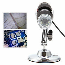 Portable 50-500X 5MP Microscope USB Digital Endoscope Magnifier Camera 8 LED New