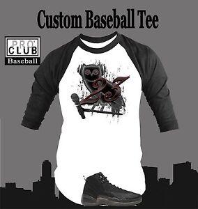 f2581e36ebd3 T Shirt to Match AIR JORDAN 12 OVO BLACK Pro Club Graphic White Tee ...