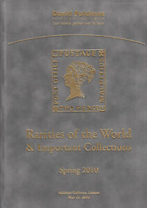 Details about Rarities of the World, rare stamps, covers, collections  2010  Feldman Catalog