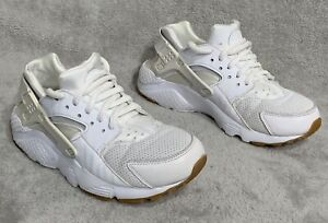 Nike Huarache Run SE GS Athletic Shoes Girls Size 5.5Y Prism  White 904538-101