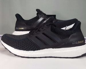 ULTRA BOOST BLACK RUNNING SHOES