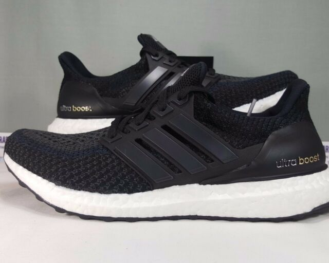 975227145 Adidas Ultra Boost Core Black BB3910 UltraBoost Women s Running Shoes Size  8.5