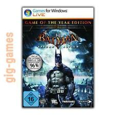 Batman Arkham Asylum Game Of The Year Edition/ GOTY Steam Download DE/EU/USA Key