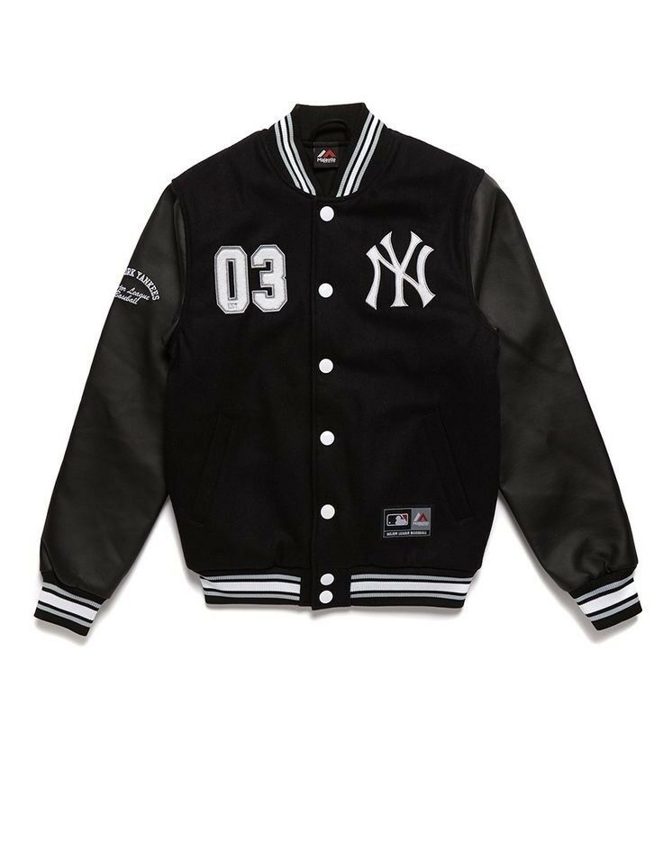 Cazadora MAJESTIC NEW YORK YANKEES MLB SENGER LETTERMAN NEW aafb62 ... 88406424ba54