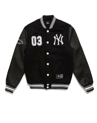 Yankees New Cazadora Majestic Mlb Letterman York Senger tqyRwa