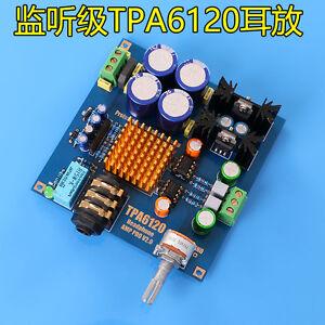 Details about Audiophile-level HIFI TPA6120 Headphone Amplifier AMP Board  DIY Kit Dual 12V-20V