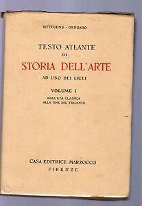 wittgens-gengaro-testo-atlante-di-storia-dell-arte-volume-I-1940