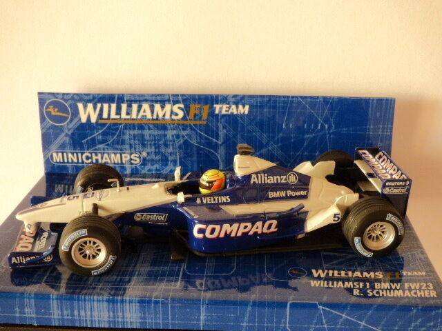 Minichamps F1 Team Williams BMW FW23 R. Schumacher No: 400010005