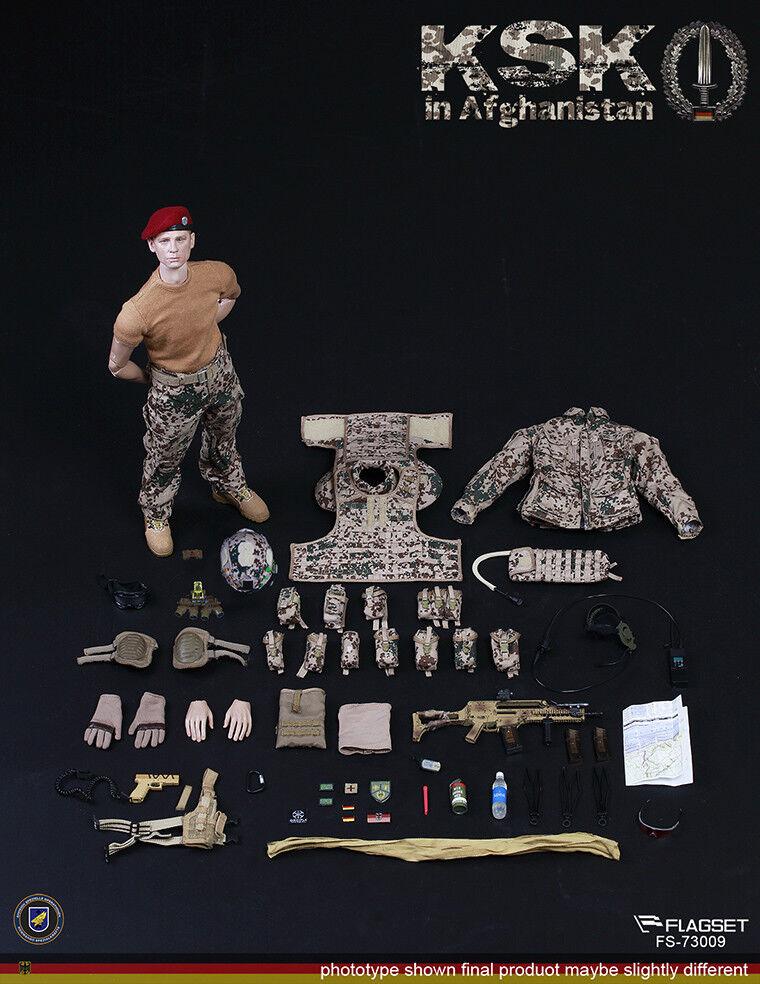 FLAGSET 1 6 Germany KSK Special Action Team In Afghanistan Assault FS-73009
