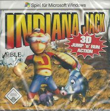 PC CD + Indiana Jack + 3D Jump'n Run Action + Abenteuer +