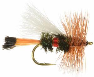 6 flies Pheasant Tail Fly Fishing Flies Bass, Bream, Trout, Salmon, Perch