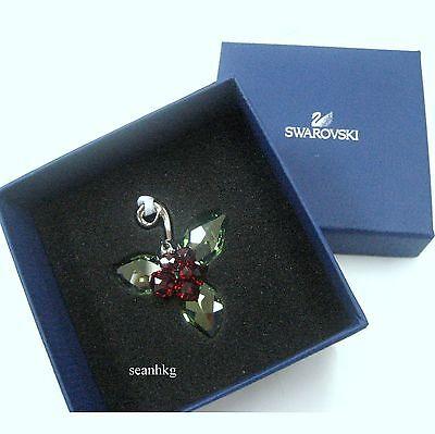 Swarovski Winter Berries, Peridot Silve Shade Christmas Ornaments New - 1094409