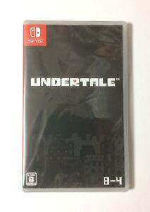 NEW-Nintendo-Switch-UNDERTALE-JAPAN-import-Japanese-game