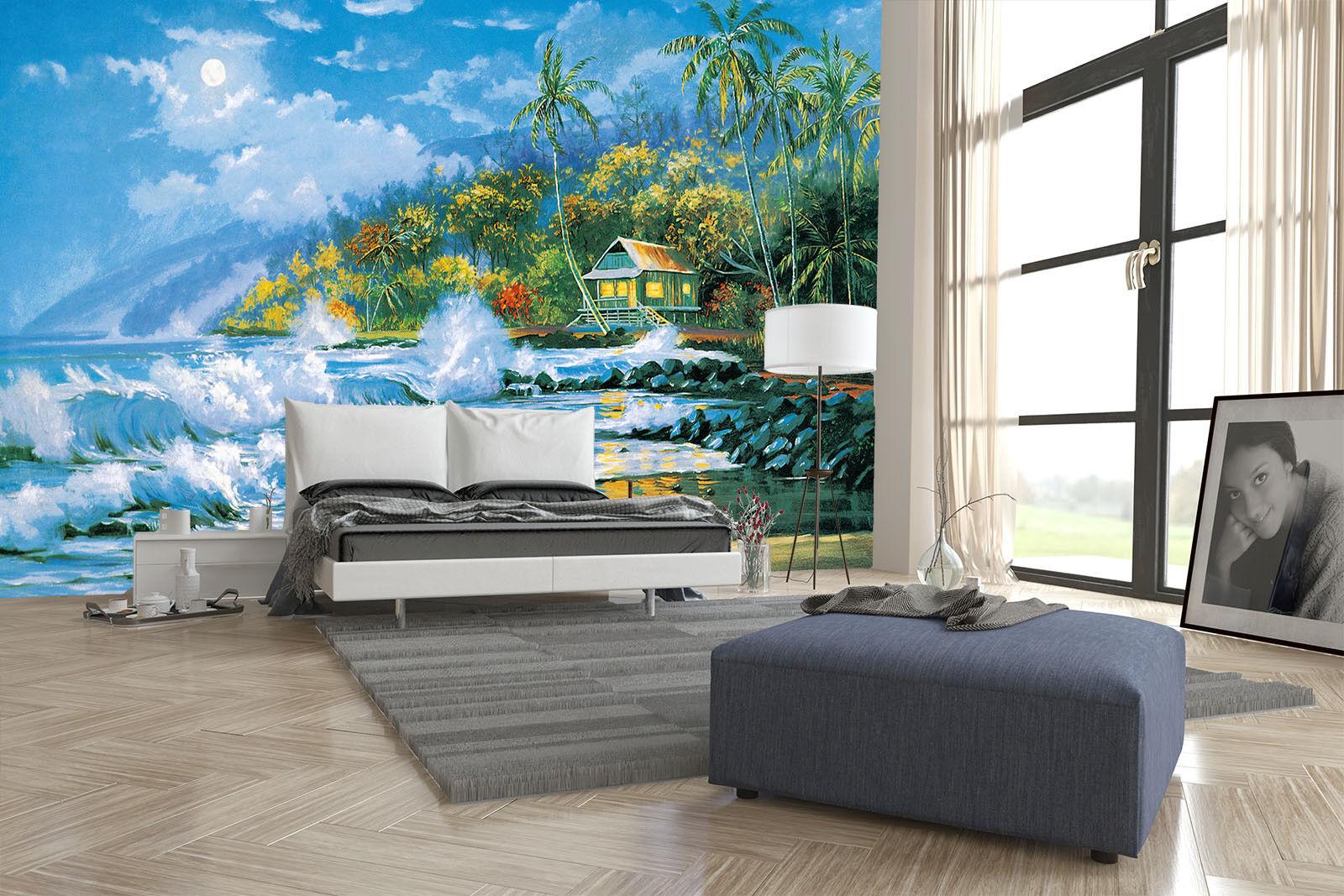 3D Meereswellen Strand 77 Tapete Wandgemälde Tapete Tapeten Bild Bild Bild Familie DE  | Kostengünstiger  | New Product 2019  | Deutschland Store  4b6e85