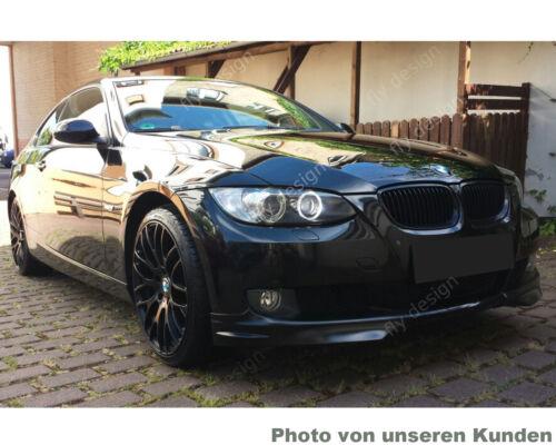 Saphir Noir 475 éclats pour bmw e92 Coupe Front Becquet front Flap Flip Lèvre