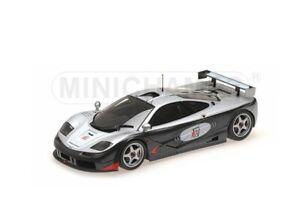 Minichamps-530-133512-McLaren-F1-GTR-Modelo-adrenalina-programa-Negro-Plata-1-18