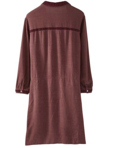 Wrap Dress A15 Rrp Uk Emilia In Colour Size £139 Raisin 18 7q6Uqwx1