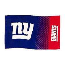 NFL NEW  YORK GIANTS NEW FADE DESIGN FLAG CREST WINDOW BANNER 5 x 3  GIFT XMAS