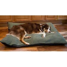 Orthopedic Dog Bed Extra Large Throw Pillow Removable Cover XL Suede Deodorizing