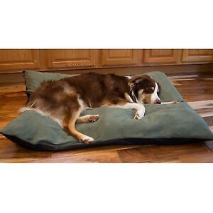 orthopedic dog bed extra large throw pillow removable cover xl suede deodorizing ebay. Black Bedroom Furniture Sets. Home Design Ideas