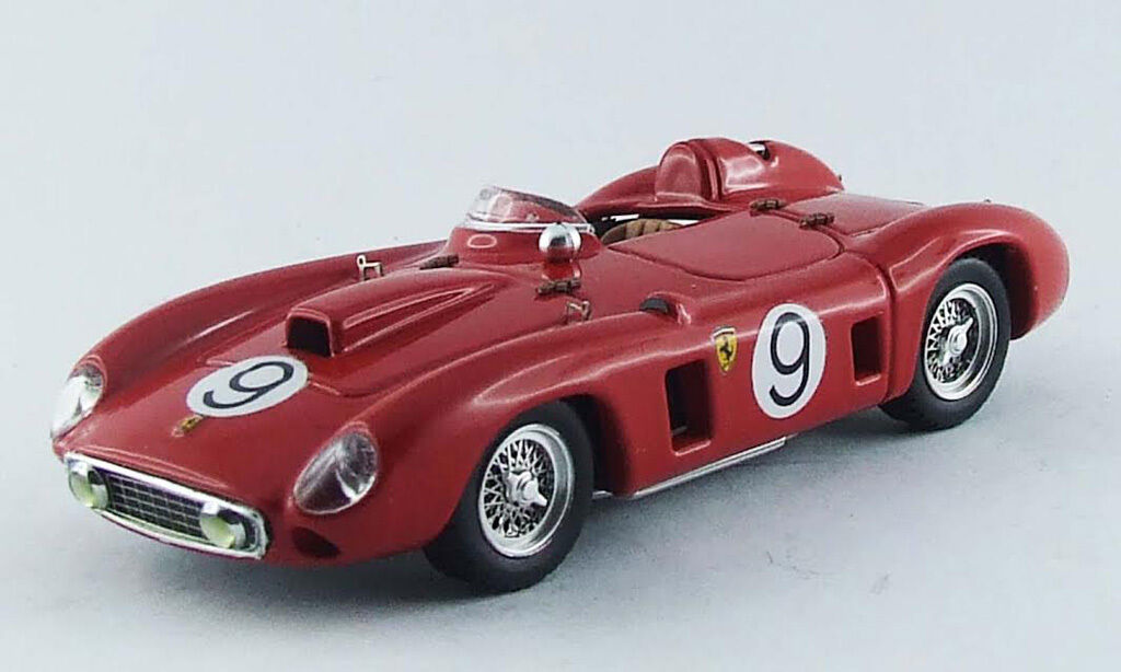 Ferrari 290 mm spa 1957 1 43 m. Gregory Model 0272 tipo-Model