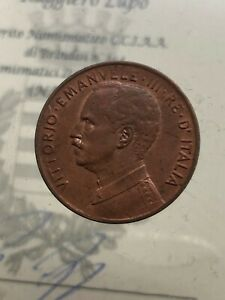 RARE-5-Cents-forward-1913-WITHOUT-PUNTO-EXPERTISE