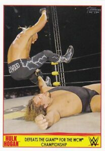 2015-Topps-Wwe-Road-To-Wrestlemania-Cartes-a-Collectionner-Hulk-Hogan-Hommage