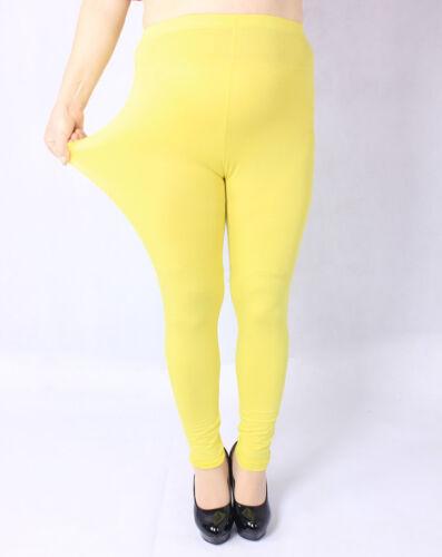 Women Plus Size Legging Pant Cotton Stretch Basic Skinny Running Soft Yoga Tight