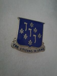 Authentic-US-Army-333rd-Infantry-Regiment-DI-DUI-Unit-Crest-Insignia-D22
