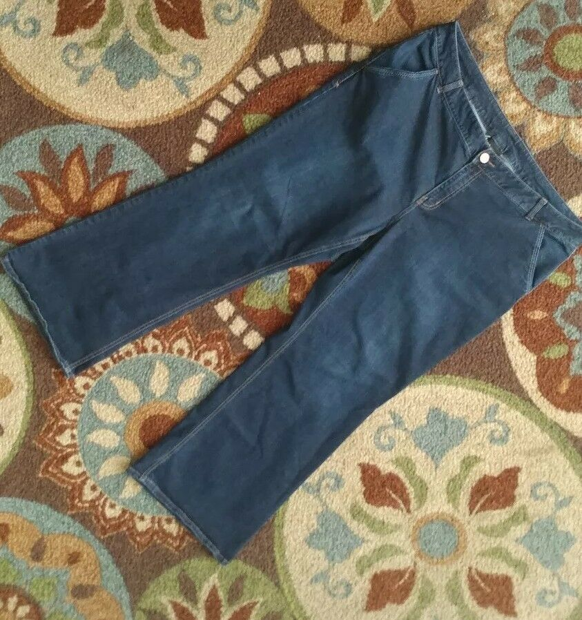 Lane Bryant Jeans size 24 Reg Stretch Boot Straight Med Wash Slimming Comfort