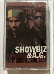 Showbiz & AG 'Party Groove/Soul Clap' Cassette (1992) Diamond D D.I.T.C.
