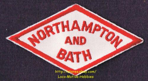 LMH PATCH Badge  NORTHAMPTON BATH Railway  N/&B NB Railway PA SHORT LINE Junction