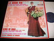 """ALMA DE DIOS<>LA GRAN VIA<>12"""" Lp Vinyl~Spain Pressing<>ALHAMBRA SCE 951"""
