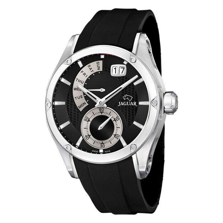 Reloj Jaguar Edición Especial en acero inoxidable correa de caucho. J678/2
